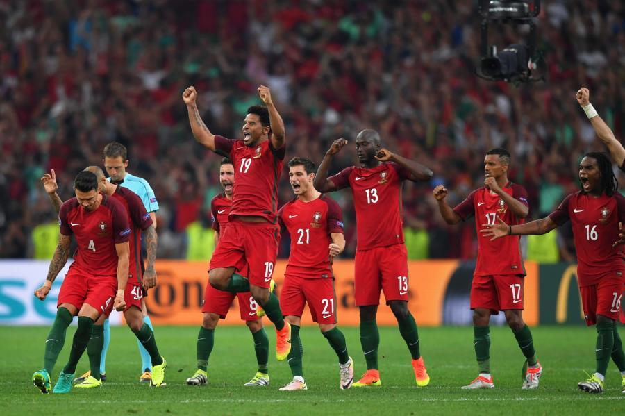 Portugalczycy po zwycięstwie w ćwierćfinale z Polską