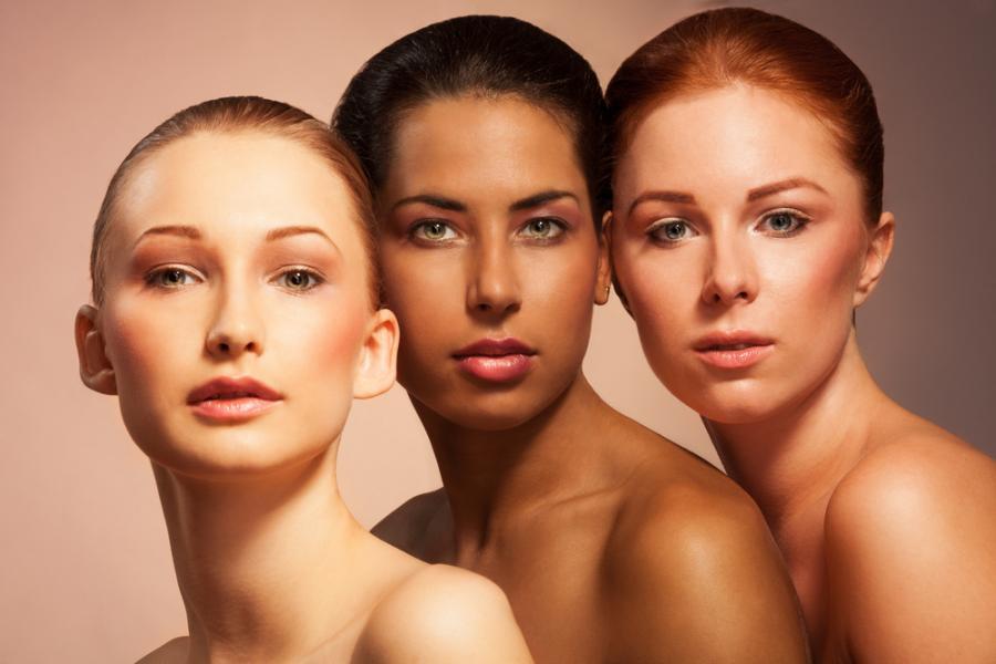 Różne twarze kobiet