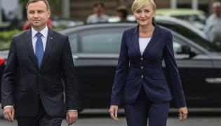 Andrzej Duda i Agata Duda