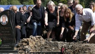 Pogrzeb zamordowanego dziennikarza