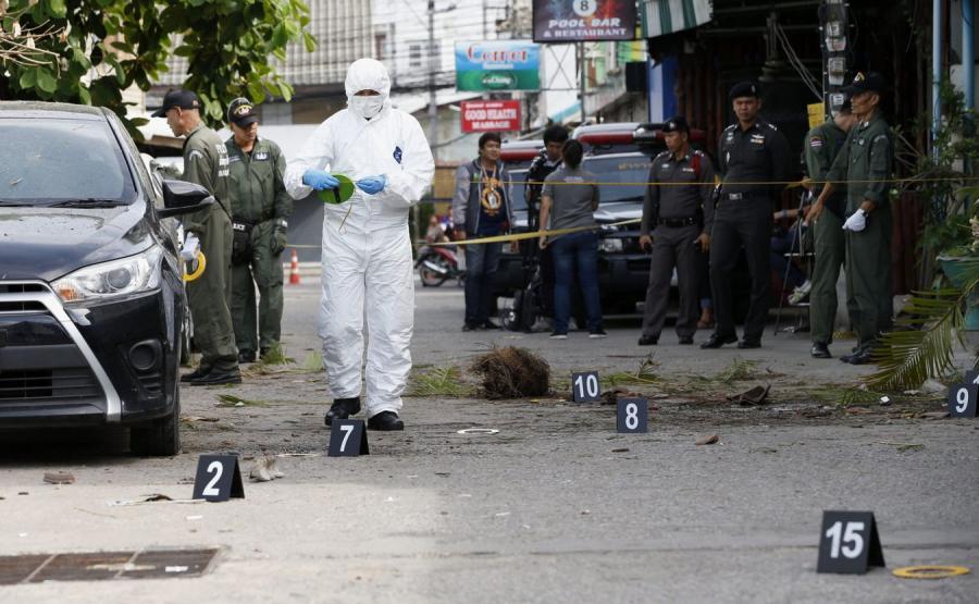 Zamach w Tajlandii