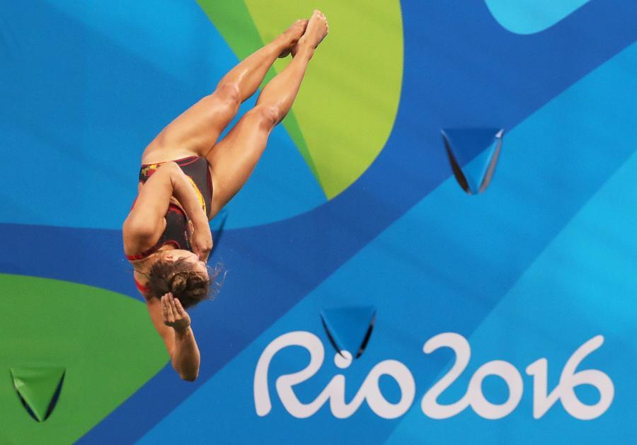 Te dziewczyny urodą nie ustępują lekkoatletkom. Na basenie w Rio de Janeiro też jest pięknie