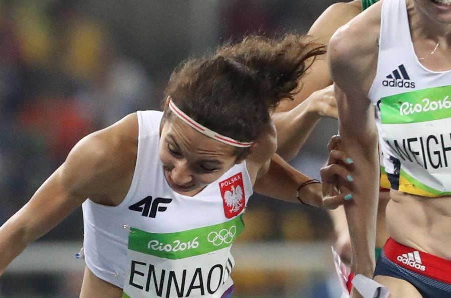 Polska lekkoatletka padła tuż za metą. Sofia Ennaoui awansowała do finału