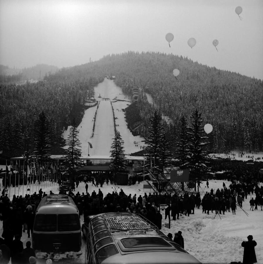 Zawody FIS 1962 / fot. ze zbiorów Muzeum Tatrzańskiego
