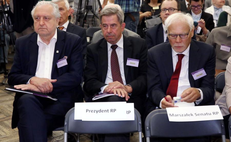Andrzej Rzepliński, Andrzej Zoll i Marek Safjan