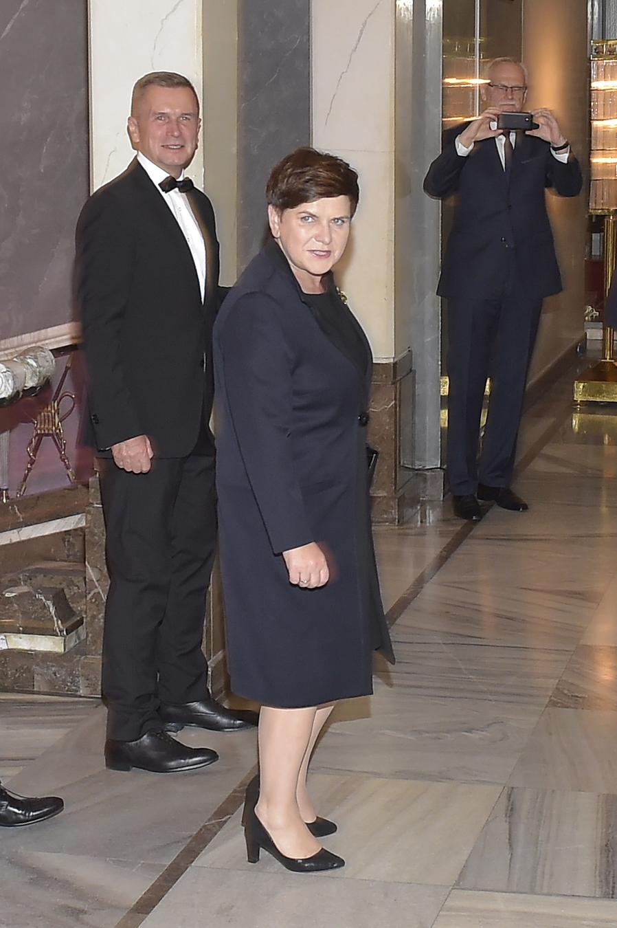 """premier Beata Szydło na premierze """"Smoleńska"""""""