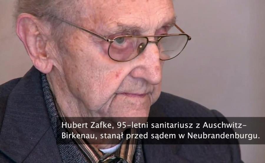 Hubert Zafke, 95-letni sanitariusz z Auschwitz-Birkenau