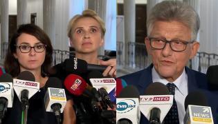 Kamila Gasiuk-Pihowicz, Joanna Scheuring-Wielgus i Stanisław Piotrowicz