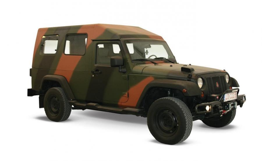 Storm 3 to pojazd opancerzony, który powstał w oparciu podzespoły Jeepa Wranglera