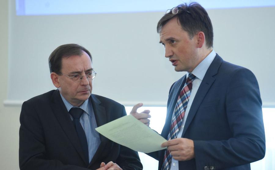 Mariusz Kamiński i Zbigniew Ziobro