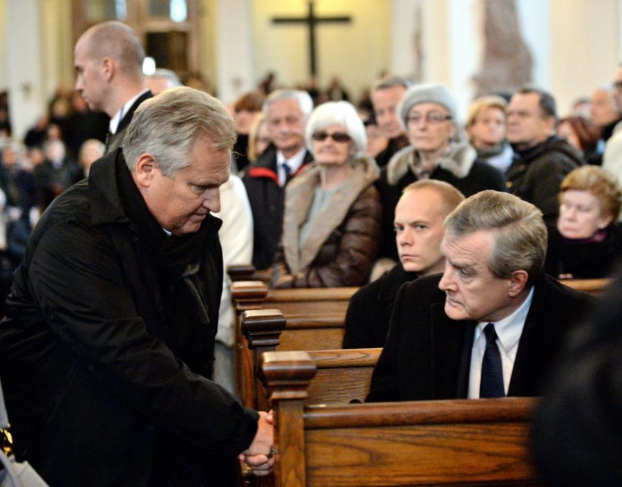 Były prezydent Aleksander Kwaśniewski i wicepremier, minister kultury Piotr Gliński