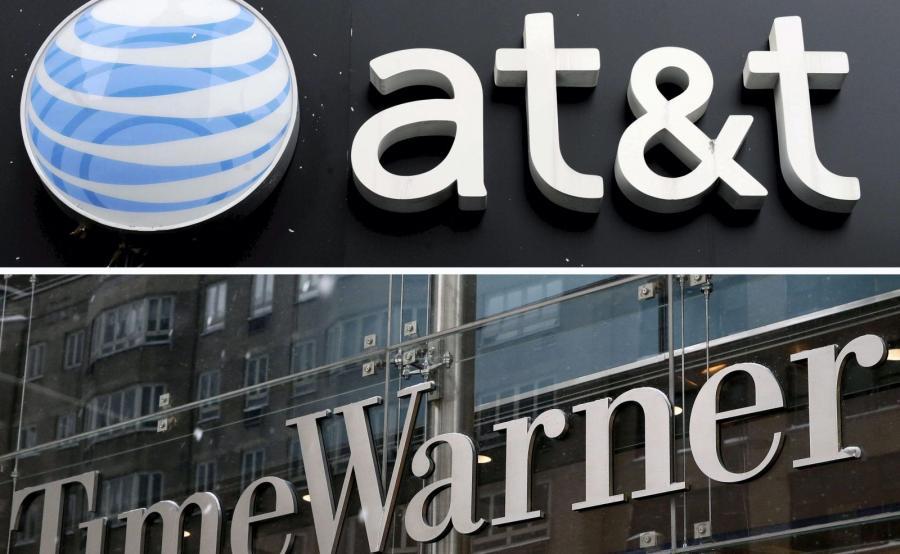 Logo AT&T i Time Warner