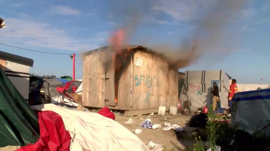 Obóz w Calais