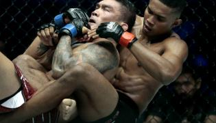 "Krew, pot i łzy, czyli ""ONE Championship MMA in Singapore"""
