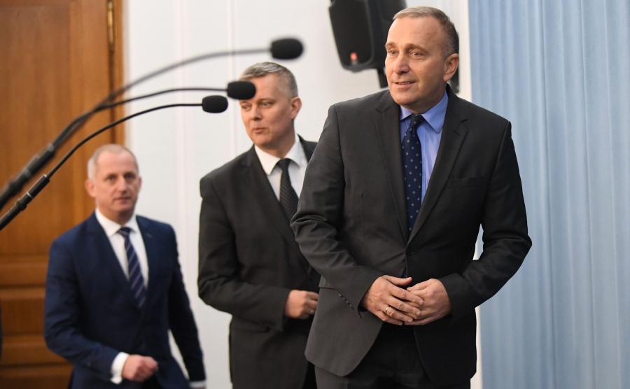 Grzegorz Schetyna, Tomasz Siemoniak i Sławomir Neumann