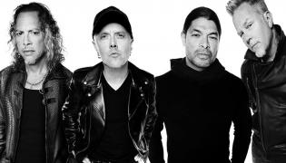 Metallica: Kirk Hammett, Lars Ulrich, Robert Trujillo, James Hetfield