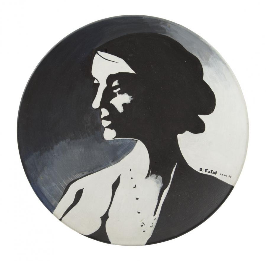 Malarstwo na ceramice: Antoni Fałat