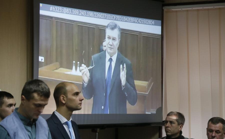 Wideoprzesłuchanie Wiktora Janukowycza