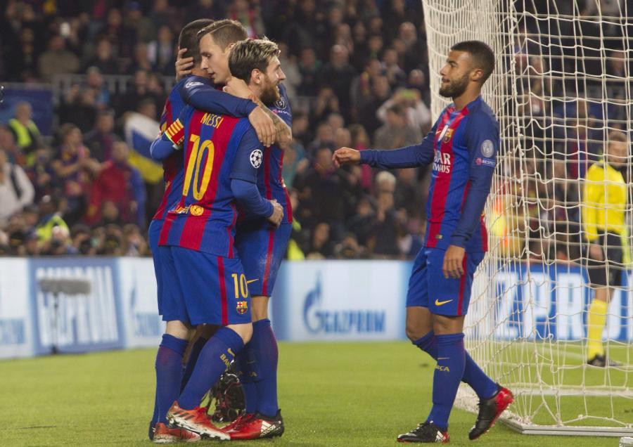 Pilkarze Barcelony
