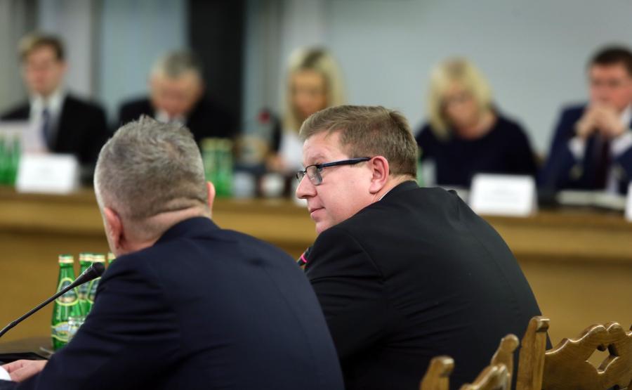 Były prezes Sądu Okręgowego w Gdańsku sędzia Ryszard Milewski zeznaje przed Komisją śledczą ds. Amber Gold