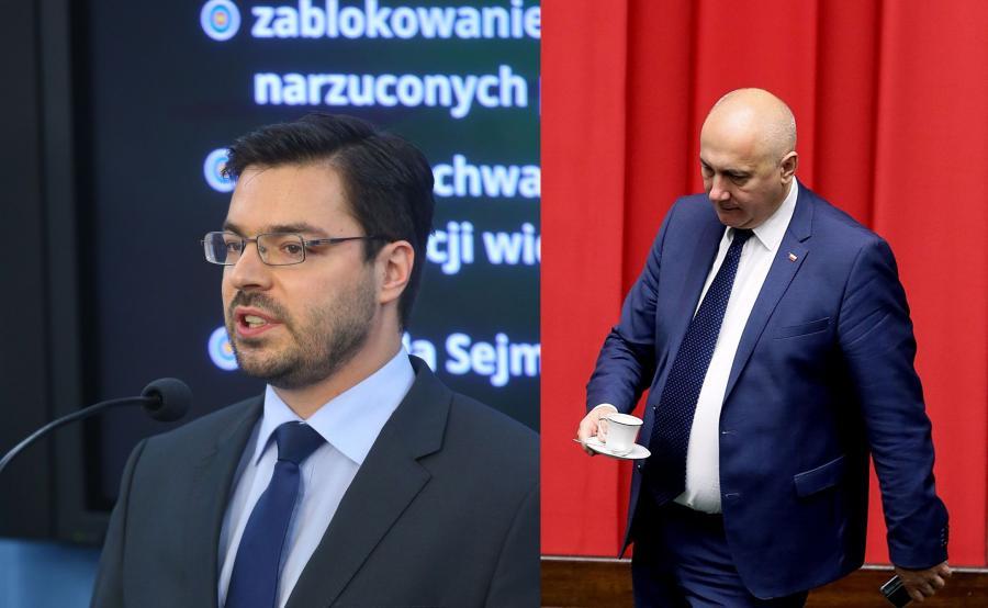 Wicemarszałkowie Sejmu: Stanisław Tyszka i Joachim Brudziński