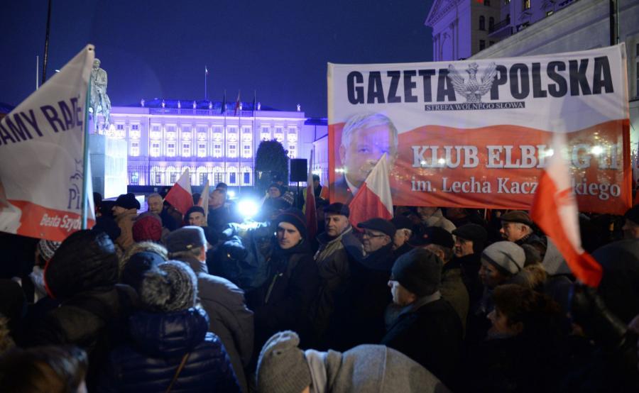 Protest klubów Gazety Polskiej