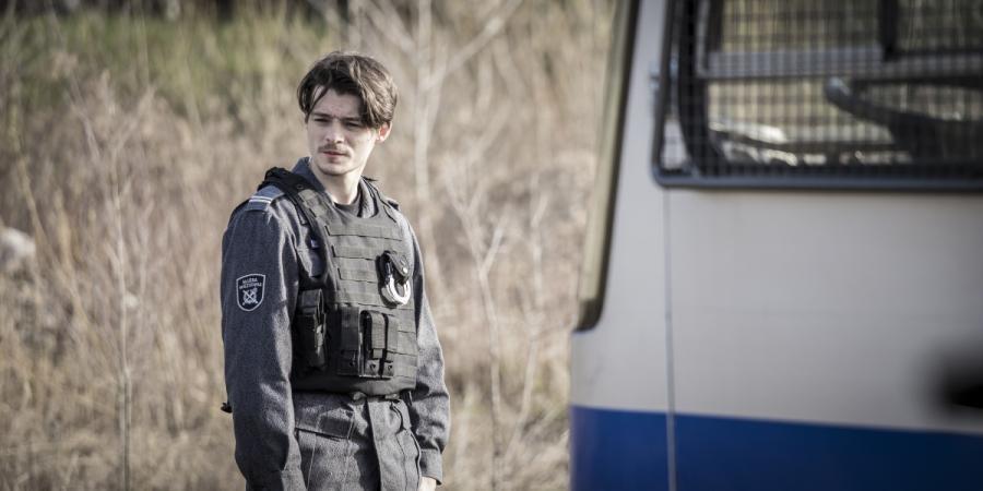 """Tomasz Ziętek w filmie """"Konwój"""". Premiera 13 stycznia 2017 roku."""
