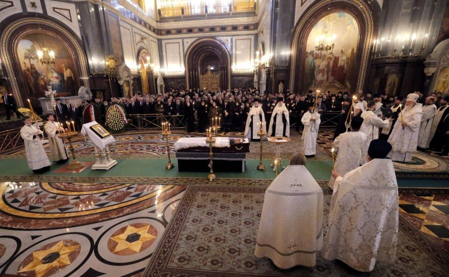 Pogrzeb ambasadora Andrieja Karłowa