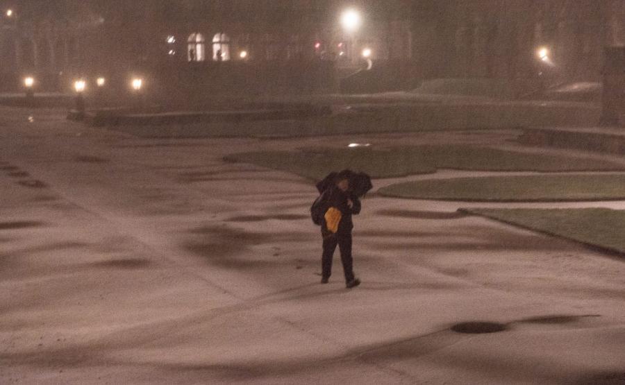 Huraganowy wiatr, podtopienia, intensywne opady śniegu. Front niżowy Axel uderzył na Niemcy