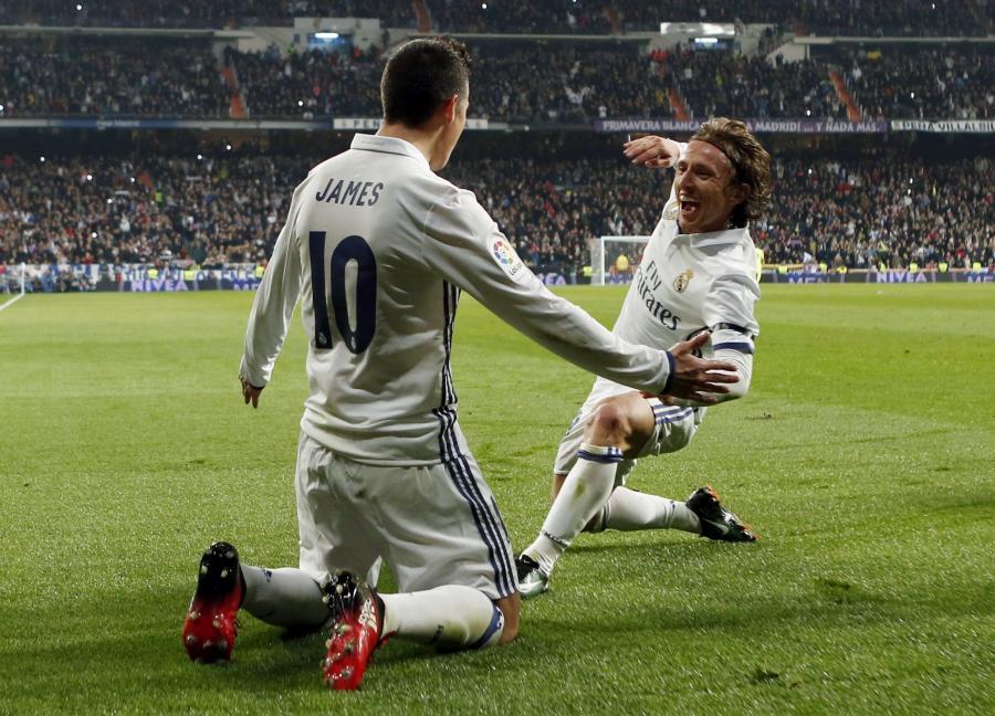 James Rodriguez i Luka Modric
