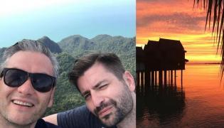 Robert Biedroń i Krzysztof Śmiszek w Malezji