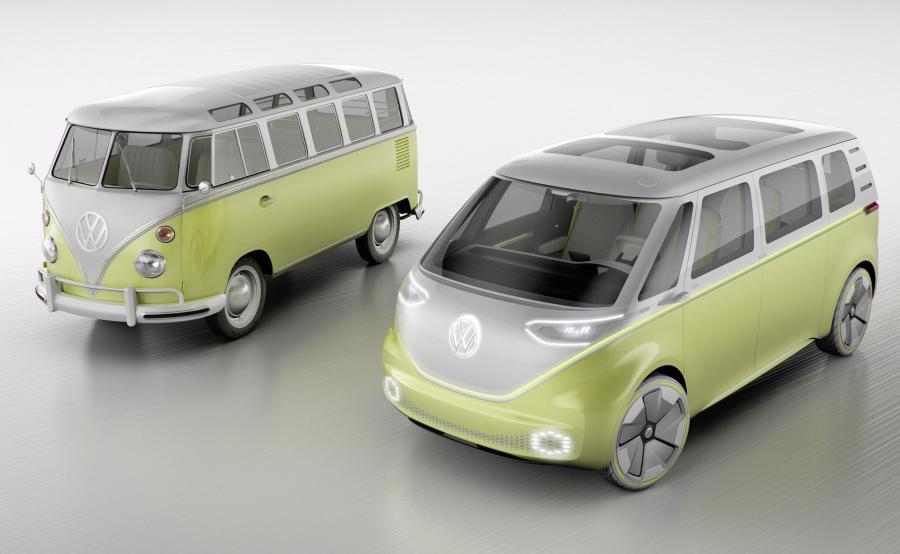 Volkswagen T1 i I.D. BUZZ