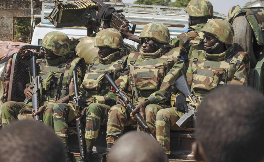 Senegalskie wojsko w Gambii