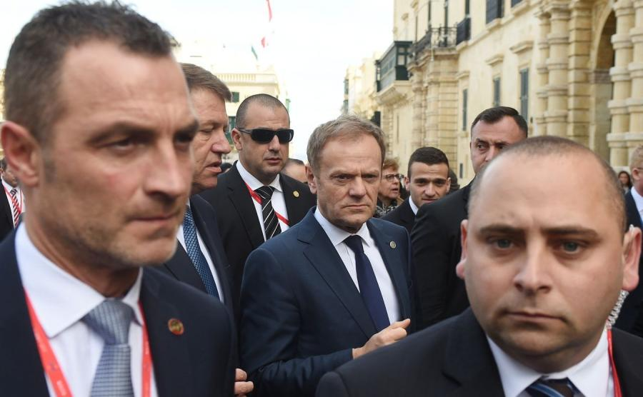 Donald Tusk na Malcie