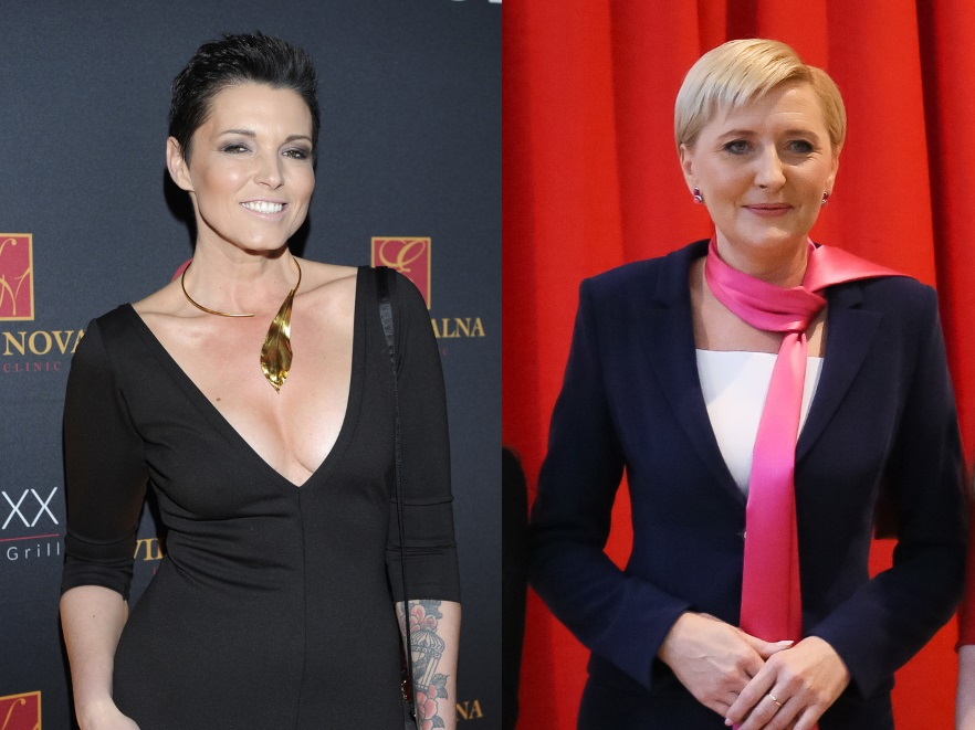 Ilona Felicjańska i Agata Kornhauser-Duda