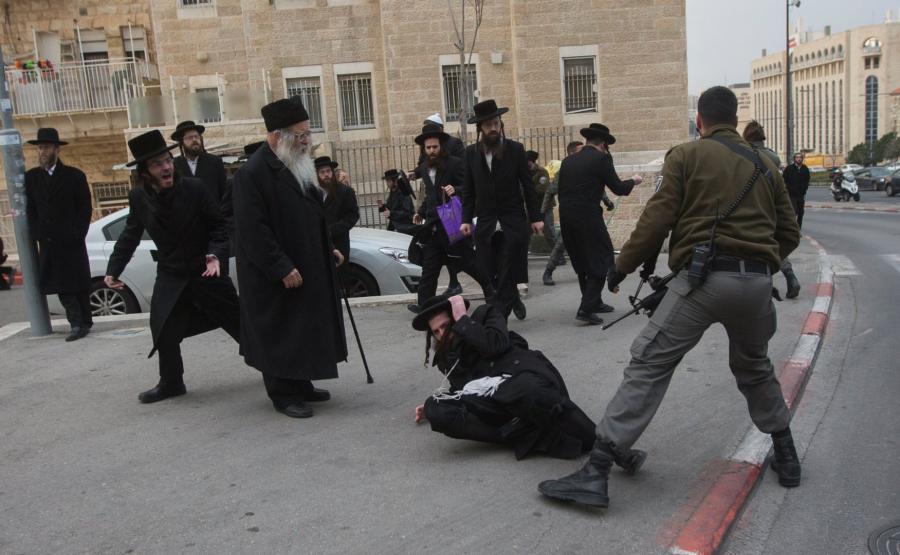 Walki na ulicach Jerozolimy
