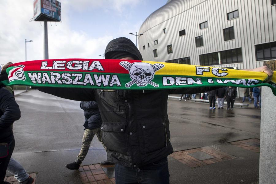 Kibic Legii Warszawa