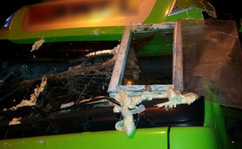 Uszkodzona ciężarówka