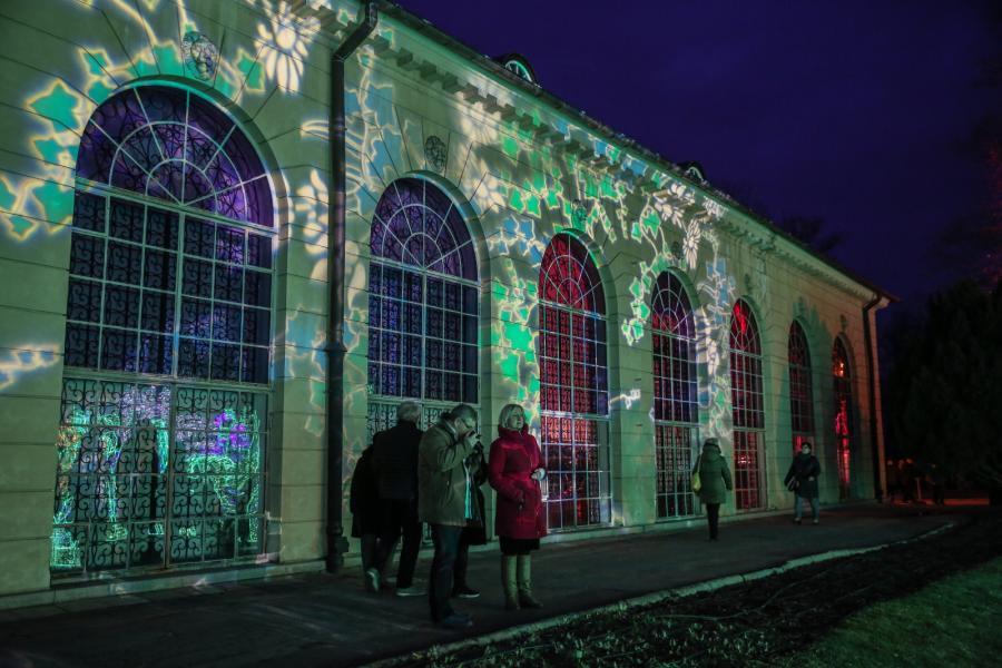 V Królewski Festiwal Światła w Wilanowie
