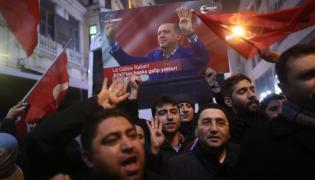 Antyholenderskie protesty w Stambule