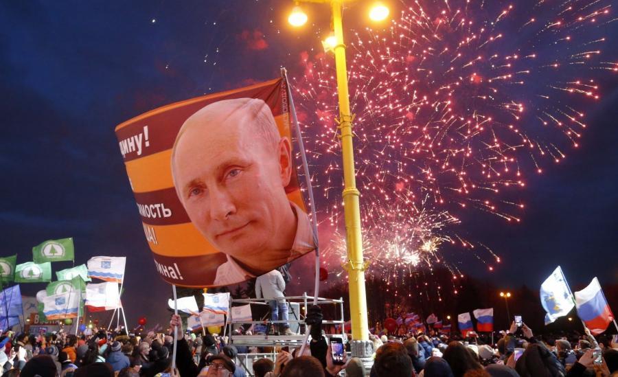 Rosjanie świętują rocznicę aneksji Krymu