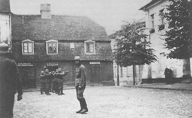 Egzekucja Polaków przez hitlerowców