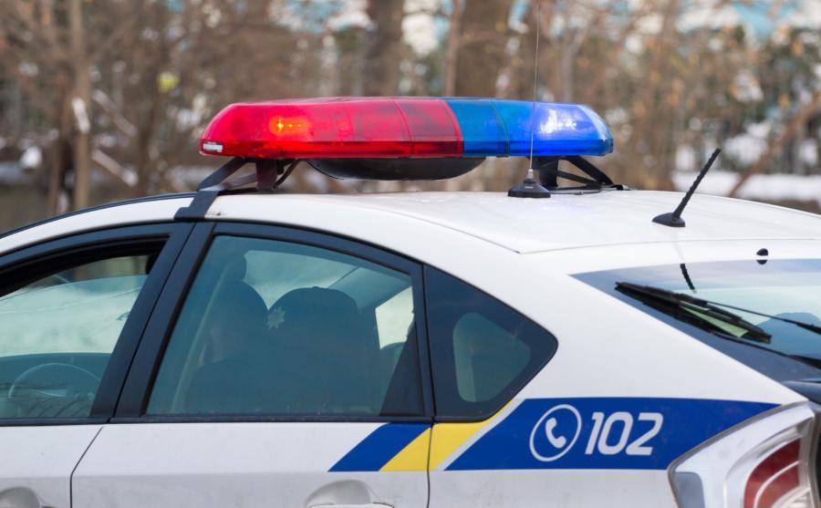 Radiowóz ukraińskiej policji